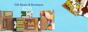 Gift box and envelop